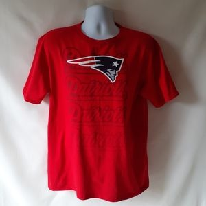 New England Patriots mens short sleeve t-shirt